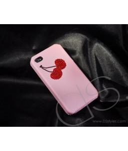 Sweet Cherry Bling Swarovski Crystal Phone Cases