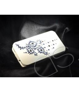 Vine Flower Bling Swarovski Crystal Phone Cases