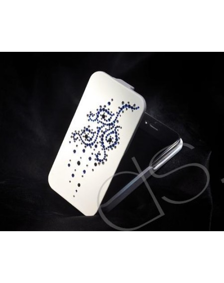 Vine Flower Bling Swarovski Crystal Phone Cases