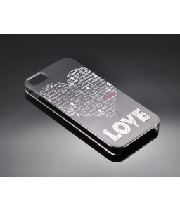 Borderless Love Bling Swarovski Crystal Phone Cases - Couple Set