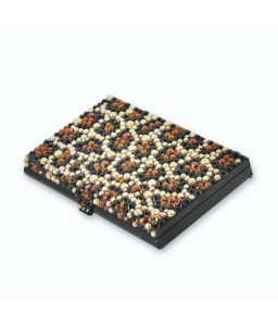 Leopard Bling Swarovski Crystal Business Card Case - Black