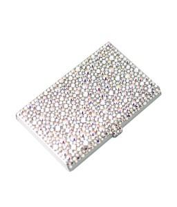 Simplicity Bling Swarovski Crystal Business Card Case