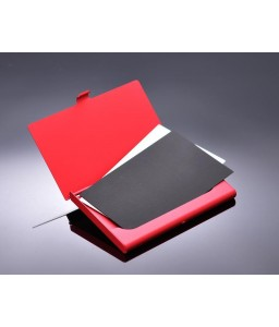 Twinkle Stars Bling Swarovski Crystal Card Case - Red