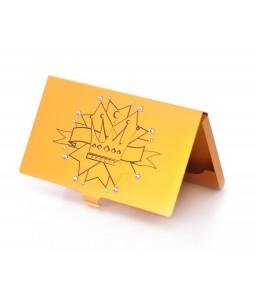 Princess Crown Bling Swarovski Crystal Card Case - Orange
