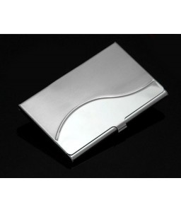 S-Line Stainless Steel Business Card Holder