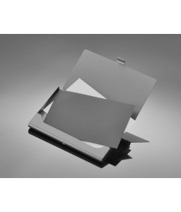 Princess Crown Bling Swarovski Crystal Card Case - Black
