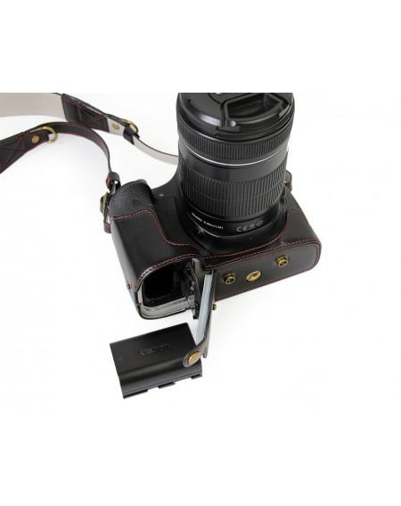 Premium Series Canon EOS 1300D Camera Leather Case