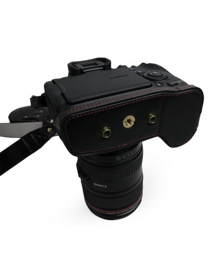 Premium Series Canon EOS 6D Mark II Camera Leather Case