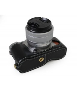 Fujifilm X-A5 Genuine Leather Half Camera Case