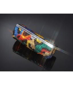Classical Swarovski Crystal Lipstick Case With Mirror